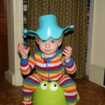 New potty on the head